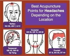 acupressure for headache.