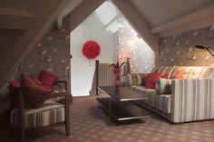 Jesmond Dene House | Hospitality | Dining | Events | Grand Hall | Luxury Hotel | Boutique | Accommodations | Lighting  | Bedroom | Hotel | Interior Design | Lounge Jesmond Dene, Interior Design Lounge, Old Building, Bedroom Lighting, Newcastle, Hospitality, Design Projects, Toddler Bed, Events