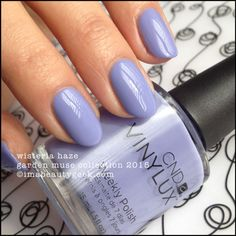 Vinylux Wisteria Haze. For all the Garden Muse 2015 swatches, click thru to Beautygeeks!