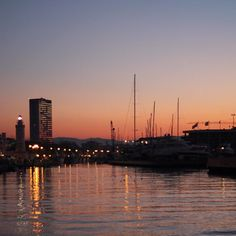 Rimini al tramonto, fine 2012 - Instagram by @Federica Melani Piersimoni