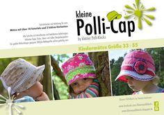 **eBook • kleine Polli-Cap Kindermütze • Gr. 33 - 55**  Du kaufst hier eine PDF-Datei, keinen Papierschnitt und auch kein fertig genähtes Produkt.  **Was ist die Polli-Cap?**  - Sie ist...