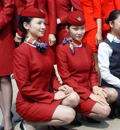 Air China Stewardess Uniforms ~ Cabin Crew Photos