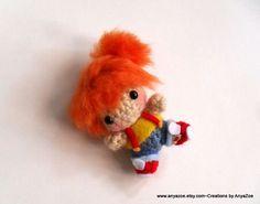 Misty chibi amigurumi doll