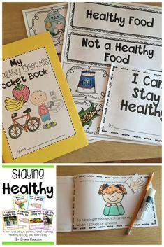 Healthy food activities for preschool, body preschool, speech activities, s Healthy Foods To Eat, How To Stay Healthy, Healthy Recipes, Healthy Habits For Kids, Healthy Bodies, Healthy Cake, Healthy Food Activities For Preschool, Speech Activities, Body Preschool