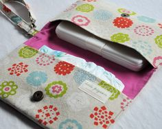Diaper Clutch and Changing Pad Set. $46.00, via Etsy.