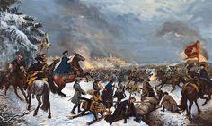 Karl XII in Narva.