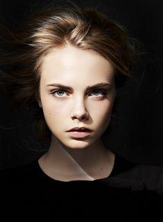 Model: Cara Delevingne | Photographer: Unknown