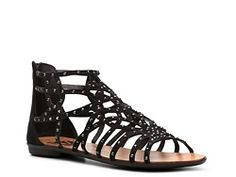 Rock & Candy Natalia Gladiator Sandal #PintoWin #DSWShoeHookup