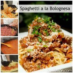 Receta de Spaghetti a la Bolognesa
