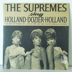 Vintage Doo Wop Record  The Supremes Sing Holland by VinylStandard