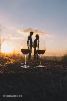 {Ensaio de casal} Camila ♥ Paulo - Engagement session, wine, picnic, sunset, e-session - smarcondes.com