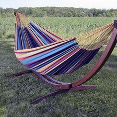 Vivere Double Cotton Hangmat met Standaard kopen? Bestel bij vtwonen by fonQ