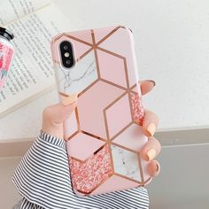Phone Case For iPhone 11 Pro Max XR XS Max 6 6S 7 8 Plus X Colorful Geometric - For iPhone XR / p