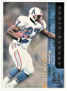 65ad49405f3 10 Best Eddie George images | American Football, Eddie george, Football