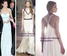 Kate Middleton in Amanda Wakeley - Rahjastan Gown