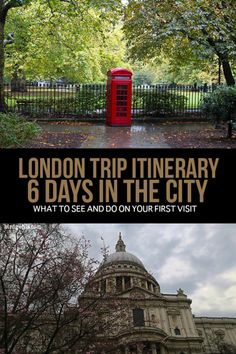 This London trip itinerary will allow you to see the best of the city's most iconic sights, with a few extras thrown in for fun. It's by no means a definitive list, but it does well as a solid introduction. / #London / #TravelTips / #UnitedKingdom/ Things to Do in London /