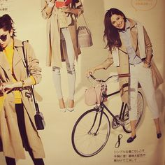 the PARK P65HP green  JAPAN model BAILA magazine 2015 March #ride#bikeshop#velo#biking#instabike#Bicycle#cycle#Leather#product#parts#Bike#thePARKtokyo#Tokyo#JAPAN#brand#自転車#japanmade#crmo#Magazine#雑誌#baila  http://thepark-tokyo.com Facebook:https://m.facebook.com/thepark.tokyo?_rdr Address:JAPAN Tokyo  2-5-1 Yurakucho, Chiyoda-ku,〒100-8488 Hankyu MAN'S TOKYO 6F  the PARK CONCEPT SHOP Tell:0362525403 Mail: info@thepark-tokyo.com