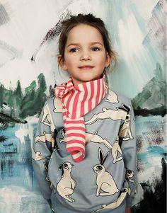 Bunny Girl Look - Girls collection - Mini Rodini Outfits Niños, Kids Outfits, Fashion Kids, Girl Fashion, Kids Girls, Baby Kids, Jupe Short, Coton Bio, Kid Styles