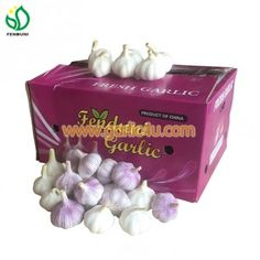 new crop garlic is coming! good quality and low price Chinese Garlic, How To Store Garlic, New China, Fresh Garlic, Decorative Boxes, Decorative Storage Boxes