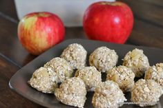 Finding Joy in My Kitchen: No-Bake Apple Cinnamon Energy Bites