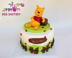 עוגת פו הדב מאת שיגעון העגות pooh the bear cake by cakes-mania - www.cakes-mania.com