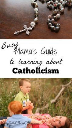 Yes! Even YOU can learn about your faith! Great list of ways, tips, and favorite resources to help even the busy mother learn about the Catholic faith!
