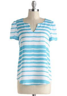 $32.99 Go Your Own Wave Top, #ModCloth