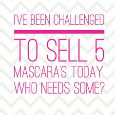 Okay ladies & teens I've been challenge to sell 5 mascara who's down to help me? I'm so close to hitting my pink status with Younique! Who needs to replace their mascara? If your new & buying we also have a 14 day guaranteed if your not happy with the 3D Fiber Lash Mascara! Anything will help & I truly appreciate it & I thank you for supporting me in my business!