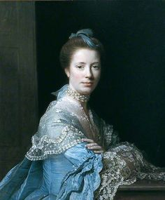 Mrs Morison of Haddo by Allan Ramsay    Date painted: 1767 Oil on canvas, 80 x 60 cm Collection: York Museums Trust