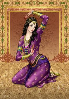 Master of dance by Develv on DeviantArt Mughal Paintings, Islamic Paintings, Indian Art Paintings, Geisha, Indian Women Painting, Abstract Painting Techniques, Middle Eastern Art, Iranian Art, Cross Stitch Art