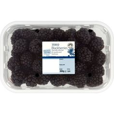 Tesco Blackberries ❤ liked on Polyvore featuring food, fillers, food and drink, black и food & drinks