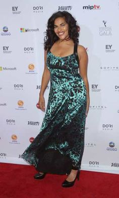 Homeland's' #SaritaChoudhury attends the 41st International Emmy Awards at the #Hilton New York on November 25, 2013 in New York City http://celebhotspots.com/hotspot/?hotspotid=5375&next=1
