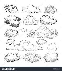 Doodle Collection Of Hand Drawn Vector Clouds.- Doodle Collection Of Hand Drawn Vector Clouds. Stock Vector … – Doodle Collection Of Hand Drawn Vector Clouds. Doodle Drawings, Doodle Art, Doodle Frames, Rose Doodle, Hipster Drawings, Doodle Tattoo, Music Drawings, Sketch Note, Bullet Journal Inspiration