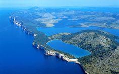 Kornati air view #travel #visit #croatia #adventurecroatia #nature #love2travel #dream #destinations #places #adventure #national #park