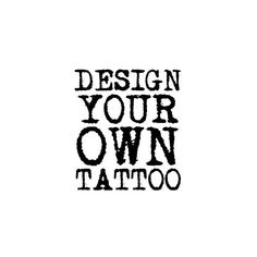Design Your Own Tattoo Online Now!