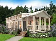 A perfect tiny home for you and your family! Take a look at our Jackson model. Tiny House Village, Tiny House Cabin, Tiny House Living, Tiny House Design, Small House Plans, House Floor Plans, Farm House, Living Room, Prefab Homes