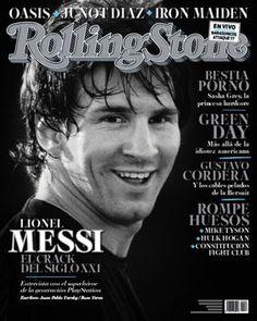 Leo Messi, en la portada de Rolling Stone 2011