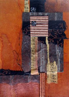 Collage, 9 x 12 by Lesli Pepper