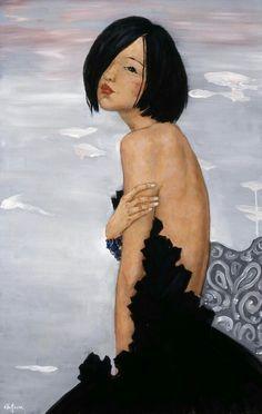 Xi Pan ( peintre Chinoise ) née en 1971
