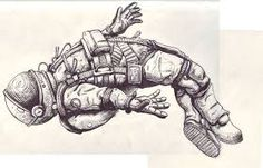 Resultado de imagen para tattoo astronaut