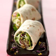 Découvrez la recette Wrap végétarien sur cuisineactuelle.fr.