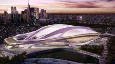 Zaha Hadid Architects: Japan National Stadium — Collate