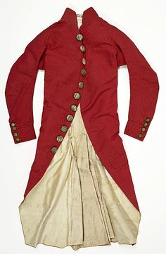 Suit  Date:     ca. 1780 Culture:     Italian Medium:     silk Dimensions:     a) 38 1/2in. (97.8cm) b) 21in. (53.3cm) Credit Line:     Roge... Accession Number: 26.56.14a, b