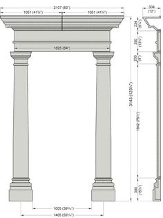icu ~ Georgian Door Surround in 2019 Neoclassical Architecture, Classic Architecture, Architecture Plan, Architecture Details, Door Design, Exterior Design, Interior And Exterior, House Design, Georgian Doors