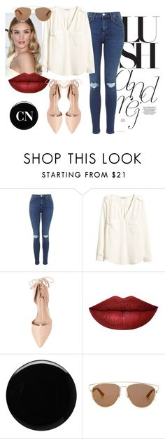 """Norman Day"" by cielonewton on Polyvore featuring moda, H&M, Ava & Aiden, Whiteley, Deborah Lippmann y Christian Dior"