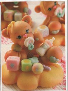 Медведь, мишка, Medvídek, Bear, Bär,medvěd - Мастер-классы по украшению тортов Cake Decorating Tutorials (How To's) Tortas Paso a Paso