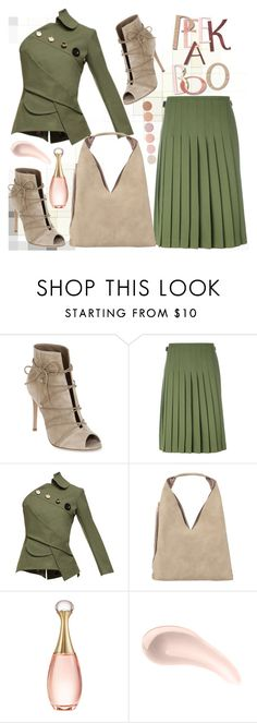 """""""Lace It Up"""" by jelena-topic5 ❤ liked on Polyvore featuring Gianvito Rossi, Le Kilt, A.W.A.K.E., INZI, Christian Dior, Soap & Glory, Deborah Lippmann and laceup"""