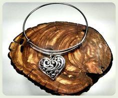 My #handmade #heart #valentinesday #bracelet @etsy https://www.etsy.com/listing/221686144/handmade-heart-bracelet-bangle #etsy #bohojewelry #etsyjewelry #etsyfinds #boho #bohobracelet #etsybracelets #etsygifts #valentine #valentines #etsystyle #jewelryonetsy #jewelry #bracelets #bridesmaidsgifts #bridalgifts #bridal #bridalgift #bridesmaids #love #bridesmaidsgift #maidofhonor #bridetobe #etsymatch