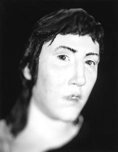 death mask - Photographer Arne Svenson is back with a new series entitled 'Unspeaking Likeness,' in which he photographs the facial reconstruction done by f. Forensic Facial Reconstruction, Forensic Artist, Effigy, Forensics, New Series, A Team, Sculptures, Death, History