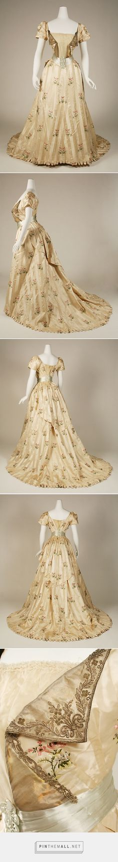 Evening dress by House of Worth 1905-08 French | The Metropolitan Museum of Art